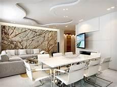 Wohnzimmer Mit Essbereich In Wei 223 Und Grau Und Kreative