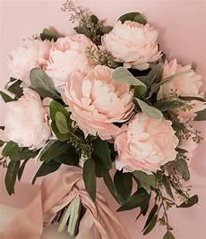 diy paper peony bouquet provo bride