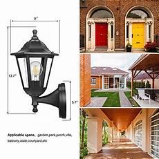 fudesy outdoor wall lantern led light fixtures pro plastic material innovation waterproof