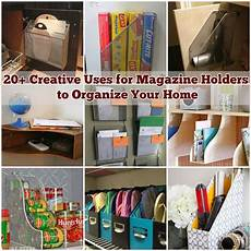 20 creative uses for magazine holders to organize your home