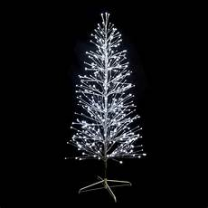sapin lumineux branches m 233 tal argent h180cm 490 led blanc