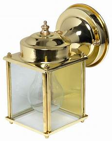 boston harbor single light porch wall lantern polished brass outdoor wall lights and