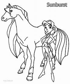 printable horseland coloring pages for cool2bkids