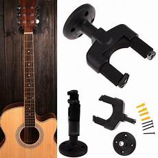 wall mount guitar holder electric guitar hanger holder rack hook wall mount stand for all size guitar set ebay