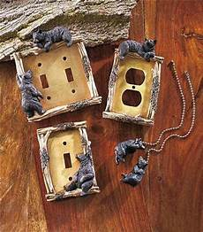 decorative rustic cabin lodge themed light switch outlet cover hardware ebay