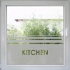 Dekorfolie Für Fenster - top fensterfolie mit dem schriftzug quot kitchen quot create wall