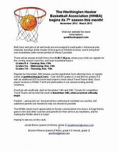 worthington basketball association gowhba at gmail com official flyer and paper