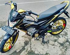 Modifikasi Motor Sonic by Modifikasi Honda Sonic 150r Terbaru