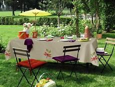 nappe table jardin table de cuisine