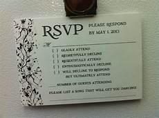 wedding invitation response card wording funny invitation pinterest response cards