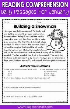 winter reading comprehension worksheets 3rd grade 20182 778 best images about worksheets on