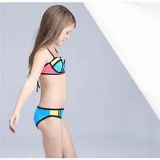 children swimsuit patchwork swimwear for
