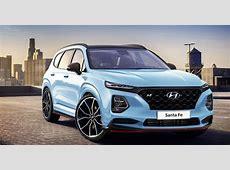 2019 Hyundai Santa Fe SE Ultimate Colors, Release Date