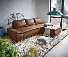 couch braun couch abilene braun 260x175 mit bettfunktion ottomane