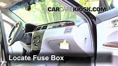 2007 buick lacrosse fuse box interior fuse box location 2005 2009 buick lacrosse 2007 buick lacrosse cxl 3 8l v6