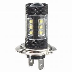 h7 osram led fog light driving turn l backup bulb