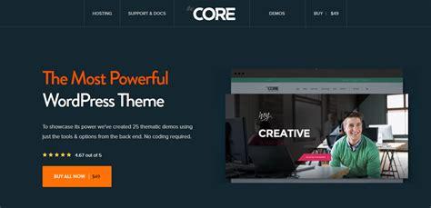 the core v1 0 34 multi purpose wordpress theme