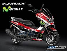 Nmax Modif Stiker by Striping Yamaha Nmax Modifikasi 2017