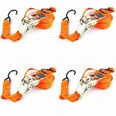 spanngurt mit haken 4 st 252 ck spanngurt ratschengurt 5 meter x 25 mm mit haken 2 teilig zurrgurt ebay