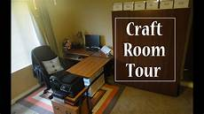 craft room tour youtube