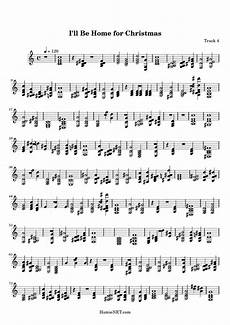 i ll be home for christmas sheet music i ll be home for christmas score hamienet com