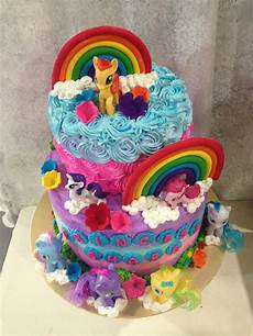 ninie cakes house birthday cakes my pony theme