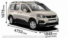 Peugeot Rifter 2019 Dimensions Boot Space And Interior