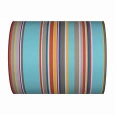 Toile Au M 232 Tre Parasol Turquoise Blanc 43cm Coton