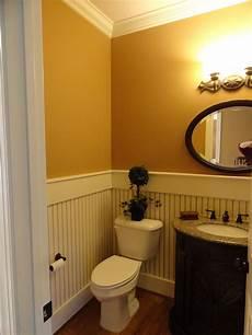 Yellow Half Bathroom Ideas by Entryway Powder Room Half Bath I D Like White Bead