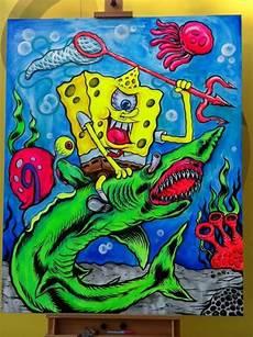 supreme spongebob wallpaper l amour supreme spongebob squarepants painting cus