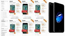 iphone 7 reconditionné orange comparatif des prix des iphone 7