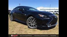 new black 2015 lexus rc 350 awd f sport series 2 in depth review southwest edmonton youtube