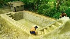 Build Swimming Pool Underground Part 1