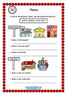 describing places worksheets printables 15977 48 free directions giving and asking worksheets