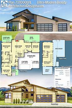 contemporary house plans single story new one story ultra modern house plans trans