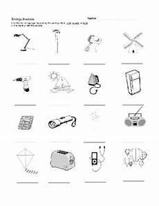 energy sources worksheet by kristin keeler teachers pay