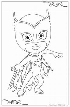 Malvorlagen Pj Masks Lengkap Pj Masks Pyjamahelden Malvorlagen Und Ausmalbilder Als