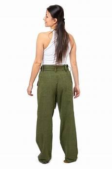 Pantalon 233 Thnique Femme Kaki Large Droit Casual Nairobi