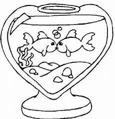 Malvorlage Fische Aquarium Fische In Herzglas Ausmalbild Malvorlage Aquarium