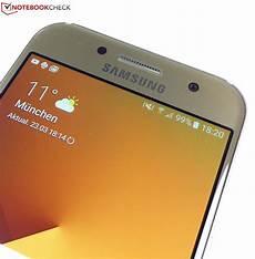 Test Samsung Galaxy A3 2017 Smartphone Notebookcheck