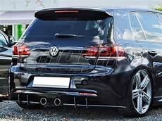 Golf 6 R Line - vw golf 6 r racer rear bumper extension