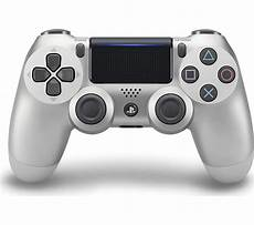 buy playstation 4 dualshock 4 v2 wireless controller silver free delivery currys