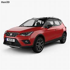 seat arona fr 2017 3d model vehicles on hum3d