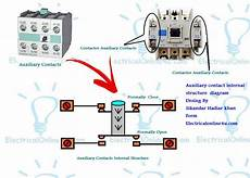 what is is auxiliary contacts and it s working in contactor electrical online 4u