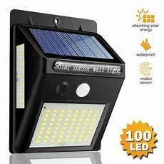 led super bright solar motion sensor wall lights infrared human induction lights ebay