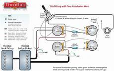 throbak 50 s 4 conductor wiring