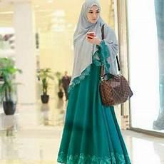 Model Jilbab Syar I Modis Voal Motif