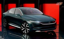 Tata EVision Electric Sedan Concept Design Technology