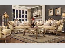 HD 2626 Homey Design upholstery living room set Victorian
