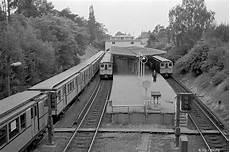 u bahnhof krumme lanke 1956 bahn berlin berlin ubahn